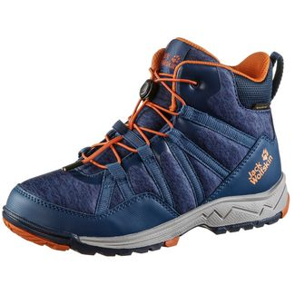Jack Wolfskin Thunderbolt Wanderschuhe Kinder blue-orange
