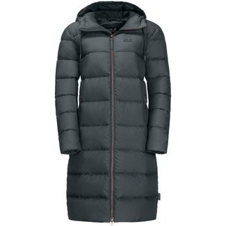 Jack Wolfskin CRYSTAL PALACE Daunenmantel Damen greenish grey