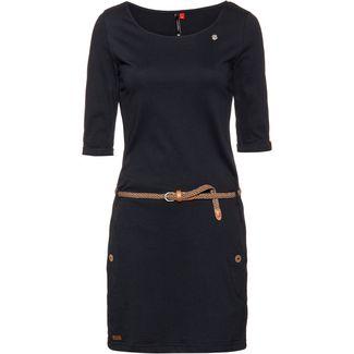 Ragwear Tanya Solid Jerseykleid Damen navy