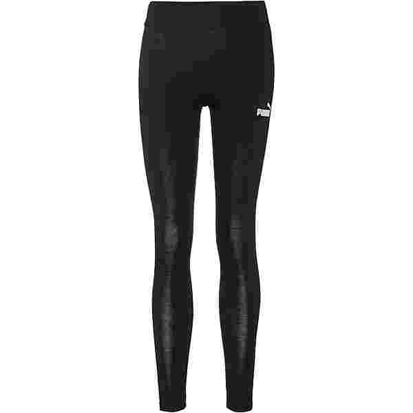 PUMA Essential Leggings Damen cotton black