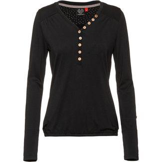 Ragwear Pinch Solid Langarmshirt Damen black