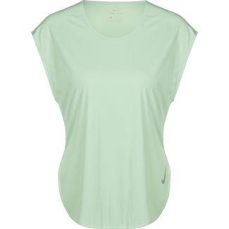 Nike Pro All Over Mesh Funktionsshirt Damen mint im Online Shop von SportScheck kaufen