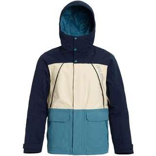 Burton Breach Snowboardjacke Herren dress blue-almond milk-storm blue