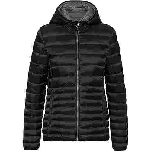 CMP Woman Jacket Zip Hood Steppjacke Damen nero-grafitte