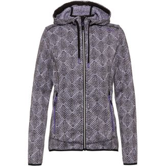 CMP Strickfleece Damen iris-b.co-antracite