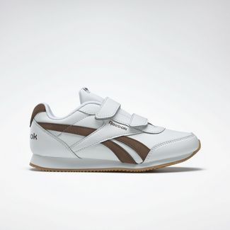 Reebok Sneaker Kinder White / Brush Brown / Thatch