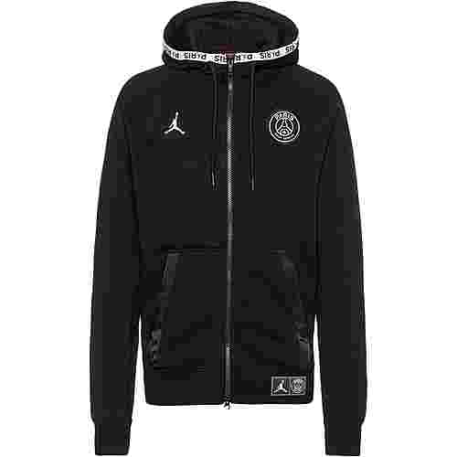 Nike Paris Saint-Germain Kapuzenjacke Herren black