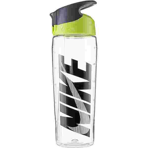 Nike Hypercharge Straw 709 ml Trinkflasche clear-volt-cool grey-black