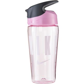 Nike Hypercharge Straw 473 ml Trinkflasche pink rise-cool grey-white