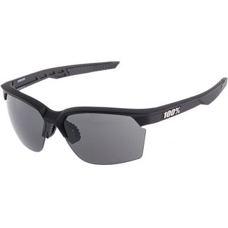 ride100percent 100% Sportcoupe Smoke Lens Sportbrille soft tact black
