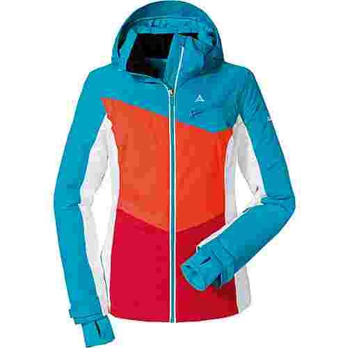 Schöffel Schladming Skijacke Damen rot-blau