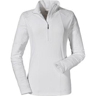 Schöffel Salzkammergut Skishirt Damen bright white