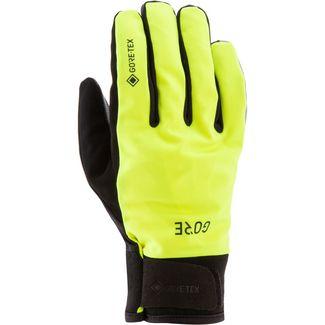 GORE® WEAR Thermo Handschuhe Fahrradhandschuhe neon yellow-black