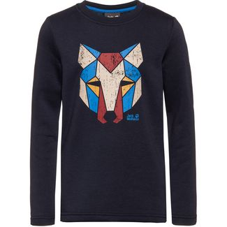 Jack Wolfskin Winter Sweatshirt Kinder night-blue