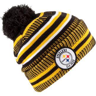 New Era Pittsburgh Steelers Bommelmütze black-yellow