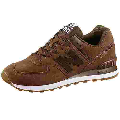 NEW BALANCE ML574 Sneaker Herren brown-green-white