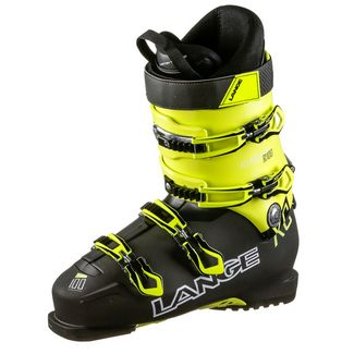 LANGE XC 100 Skischuhe black-yellow