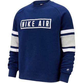 Nike NSW Air Sweatshirt Herren blue void-white-game royal-white