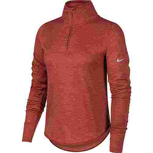 Nike Funktionsshirt Damen cedar-light redwood-htr-reflective silver