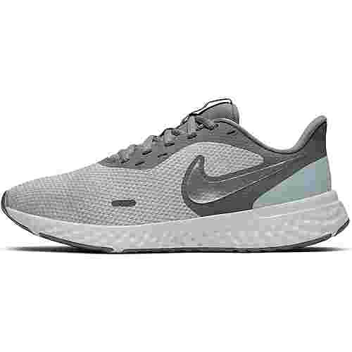 Nike Revolution 5 Laufschuhe Damen wolf grey-mtlc cool grey-cool grey
