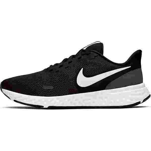 Nike Revolution 5 Laufschuhe Damen black-white-anthracite