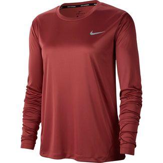 Nike Miler Funktionsshirt Damen cedar-reflective silver
