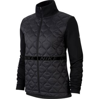 Nike Aerolayer Laufjacke Damen black-reflective silver