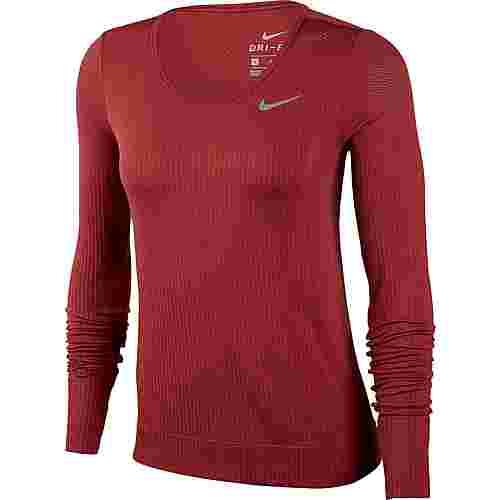 Nike Infinite Funktionsshirt Damen cedar-reflective silver