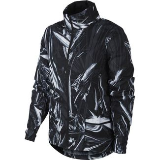 Nike Shield Laufjacke Damen black-reflective silver