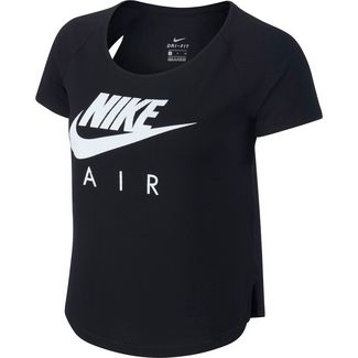 Nike Air Funktionsshirt Damen black-white