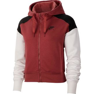 Nike NSW Air Sweatjacke Damen cedar-black-white