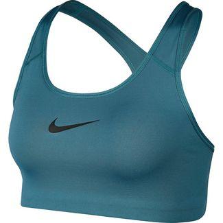 Nike Pro Classic Swoosh Sport-BH Damen mineral teal-black