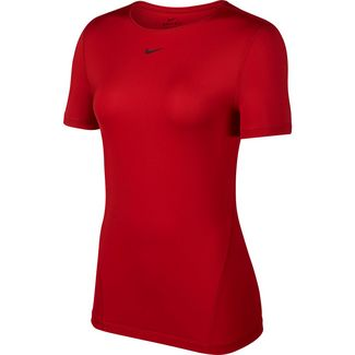 Nike Pro Yogashirt Damen gym red-black