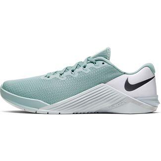 Nike Metcon 5 Fitnessschuhe Damen ocean cube-mtlc cool grey-pure platinum