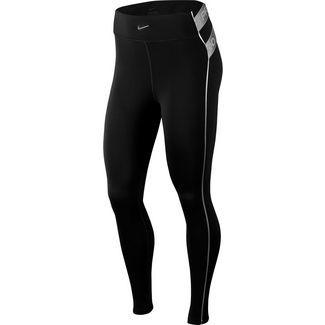 Nike Hyperwarm Tights Damen black-metallic silver