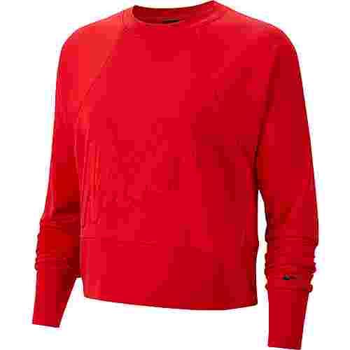 Nike Get Fit Sweatshirt Damen university red-black