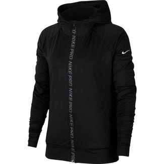 Nike Warm Funktionsjacke Damen black-white