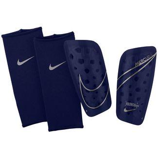 Nike Mercurial Lite Schienbeinschoner blue void-metallic silver