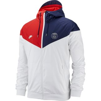 Nike Paris Saint-Germain Windbreaker Herren white-midnight navy-university red-white