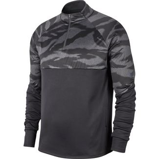 Nike THRMA SHLD STRK Funktionsshirt Herren black-anthracite-reflect black