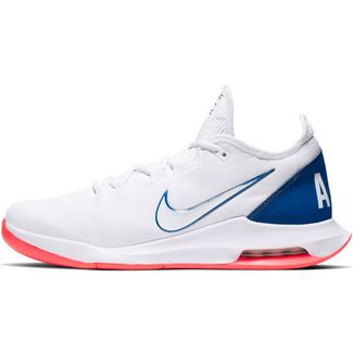 Nike AIR MAX WILDCARD HC Tennisschuhe Herren white-white-game royal-flash crimson