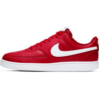 Nike Court Vision Sneaker Herren gym red-white