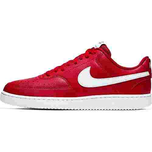 Nike Court Vision Sneaker Herren gym red-white