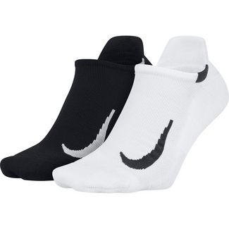 Nike Multiplier Laufsocken Herren black-white