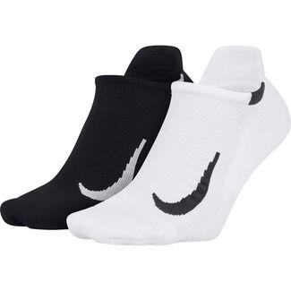 Nike Multiplier Laufsocken Herren black-white