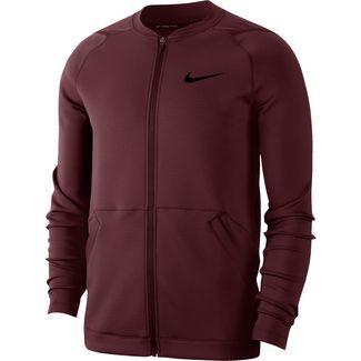 Nike Pro Trainingsjacke Herren night maroon-night maroon