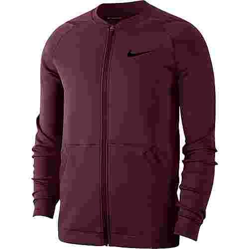 Nike Pro Trainingsjacke Herren night maroon-night maroon