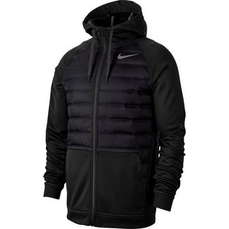 Nike Therma Winterjacke Herren black-black-dark grey