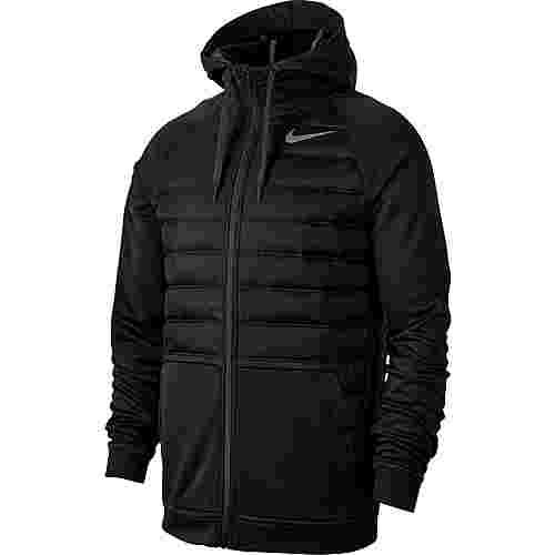 Nike Therma Winterjacke Herren black-black-dark grey