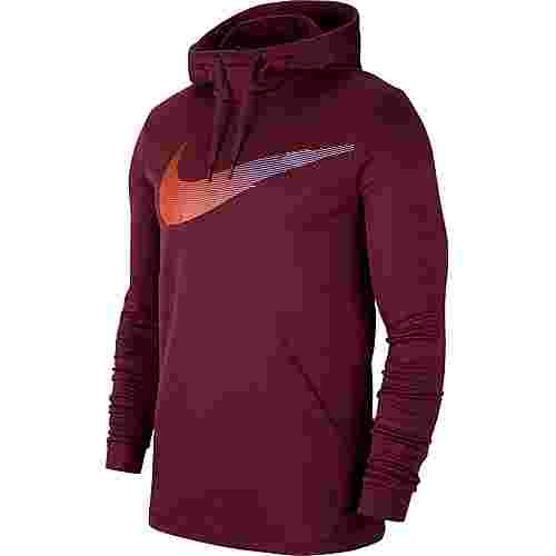 Nike Therma HD PO FGFX3 Hoodie Herren night maroon
